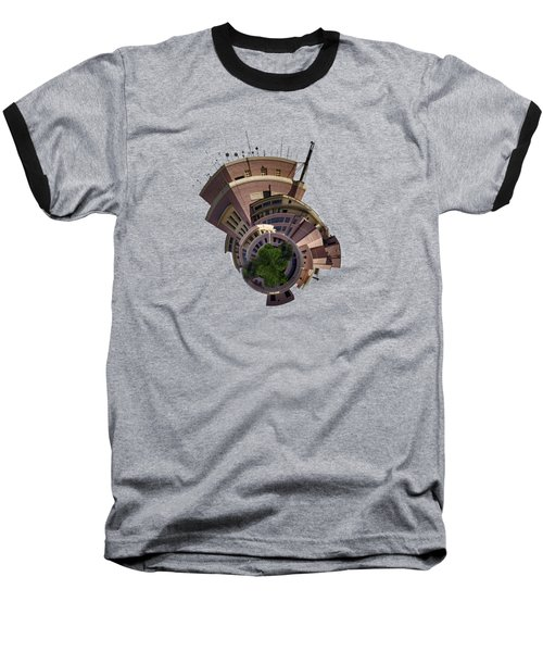Planet Tripler T-shirt Baseball T-Shirt by Dan McManus