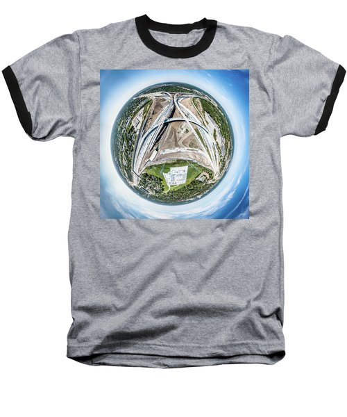 Planet Under Construction Baseball T-Shirt