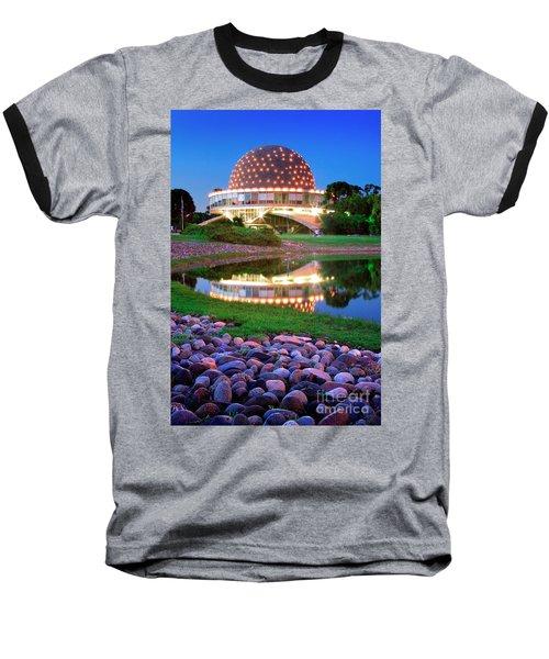 Baseball T-Shirt featuring the photograph Planetario by Bernardo Galmarini