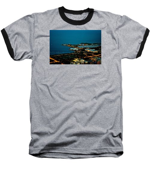 Baseball T-Shirt featuring the photograph Planetarium And Aquarium by Richard Zentner