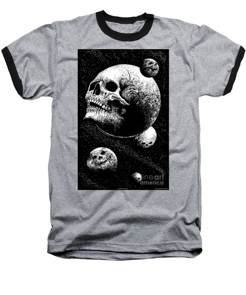 Planetary Decay Baseball T-Shirt