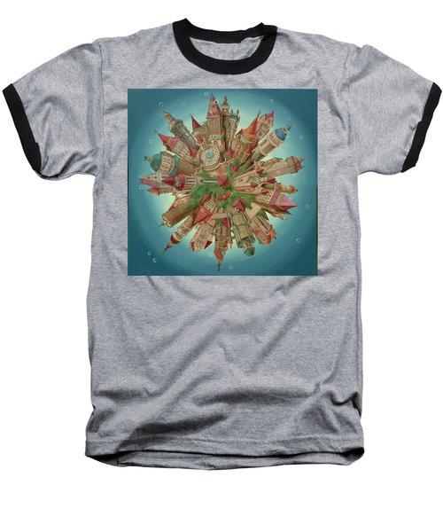 Planetoid Baseball T-Shirt