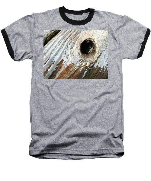 Baseball T-Shirt featuring the photograph Planking The Right Way? by Robert Knight