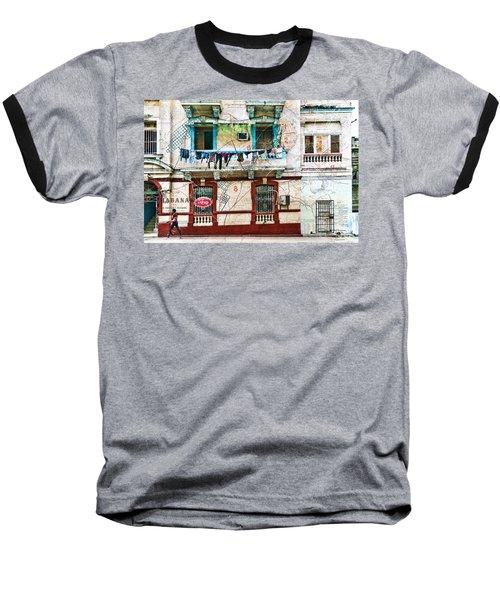 Plano De La Habana Baseball T-Shirt