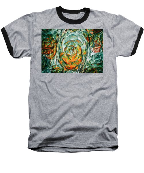Baseball T-Shirt featuring the photograph Plant Abstract by Wayne Sherriff