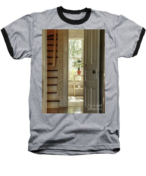 Plant In Window Baseball T-Shirt