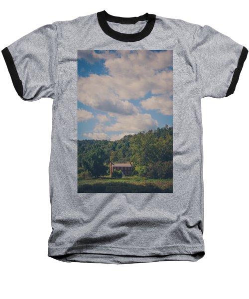 Baseball T-Shirt featuring the photograph Plantation House by Shane Holsclaw