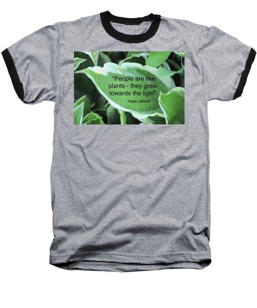 Plants Baseball T-Shirt by Lisa DiFruscio