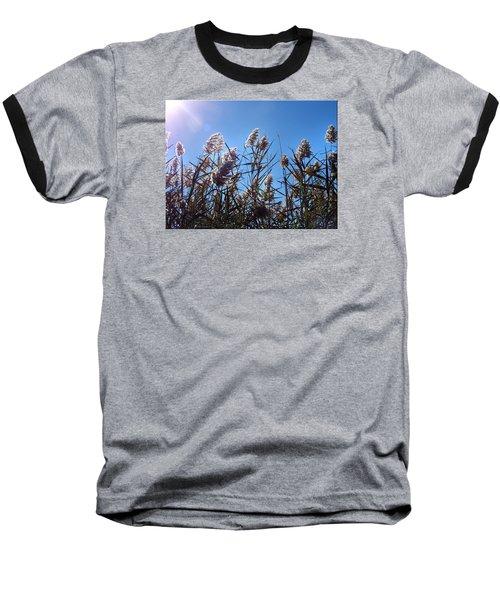 Plants Baseball T-Shirt by Mikki Cucuzzo