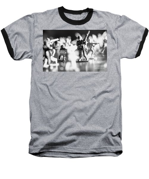 Baseball T-Shirt featuring the photograph Plastic Army Men 2 by Micah May