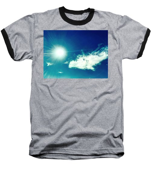 Platinum Rays And Angelic Cloud Bless The Prairie Baseball T-Shirt