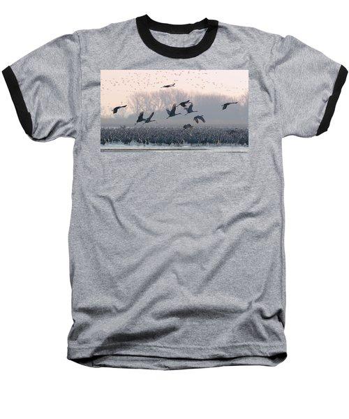 Platte River Morn Baseball T-Shirt
