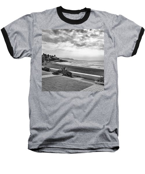 Playa Burriana, Nerja Baseball T-Shirt