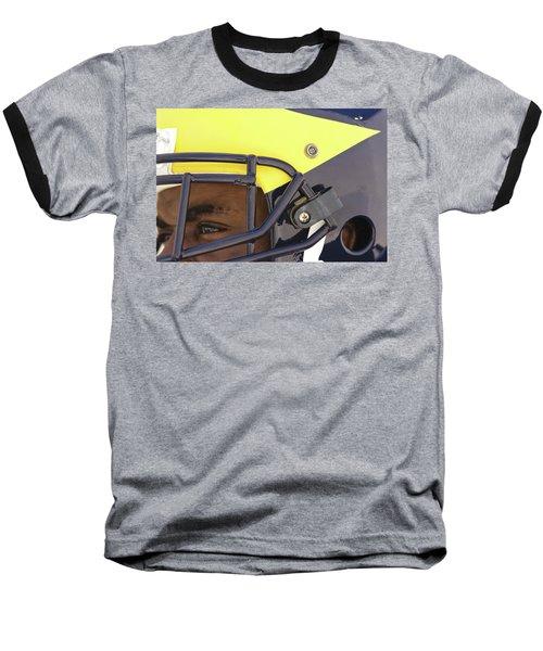 Player In Winged Helmet Baseball T-Shirt