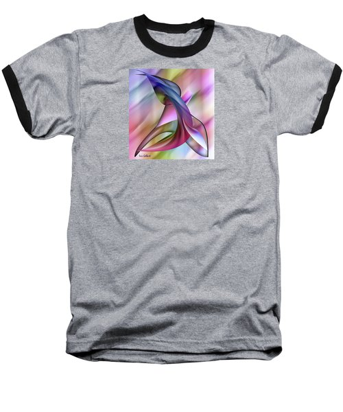 Playful Abstract  Baseball T-Shirt