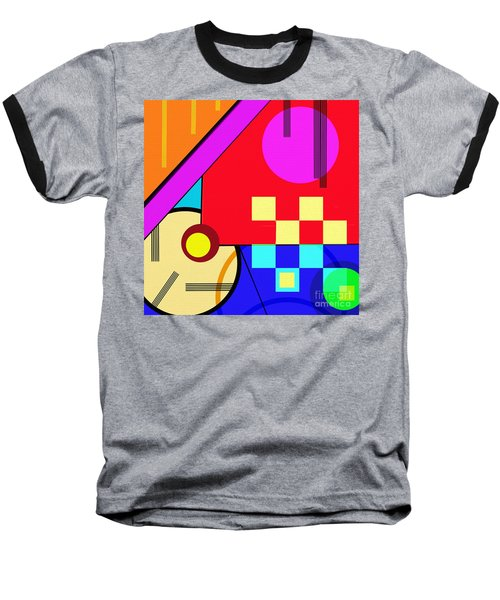 Baseball T-Shirt featuring the digital art Playful by Silvia Ganora
