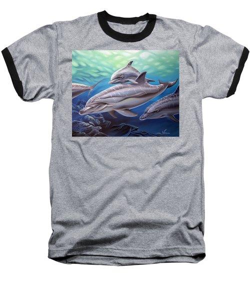 Playground Baseball T-Shirt by William Love