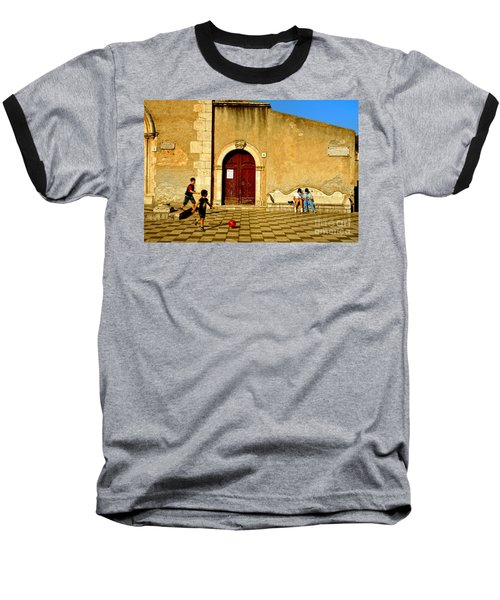 Playing In Taormina Baseball T-Shirt