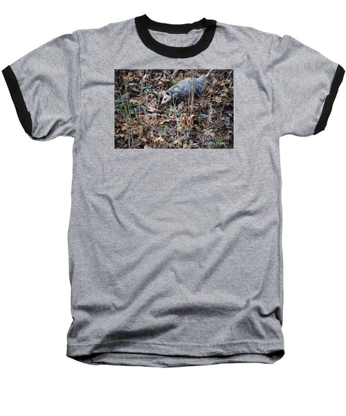 Baseball T-Shirt featuring the photograph Playing Possum by Mark McReynolds