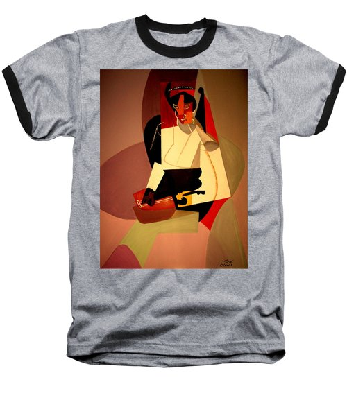 Playing The Mandolin Baseball T-Shirt