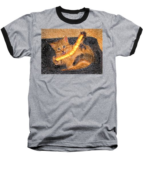Playing With Fire Baseball T-Shirt