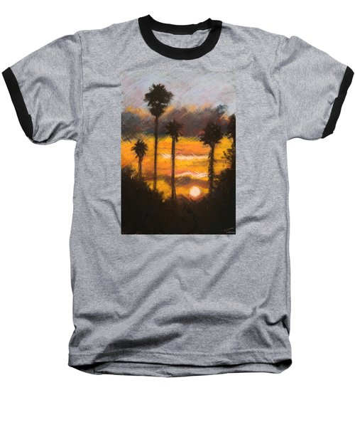 Playing With Fire, San Diego Baseball T-Shirt