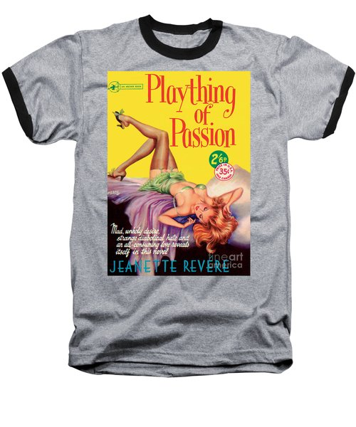 Baseball T-Shirt featuring the painting Plaything Of Passion by Reginald Heade