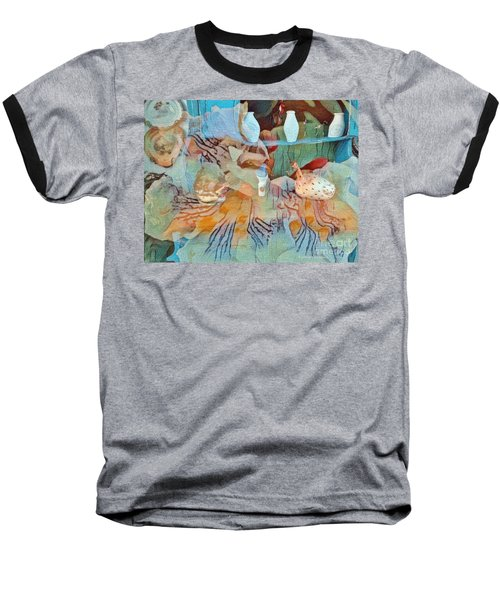 Pleasant Dreams Baseball T-Shirt