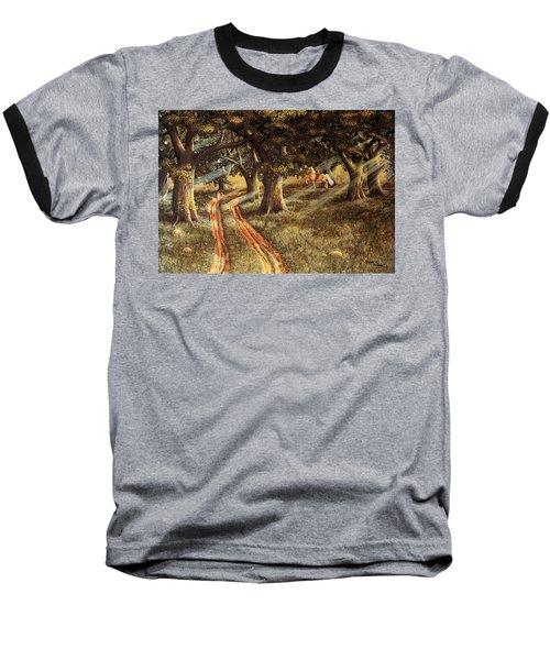 Pleasant Escape Baseball T-Shirt