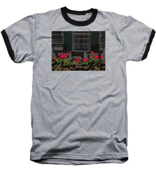 Baseball T-Shirt featuring the photograph Pleasant Evening by Rosalie Scanlon