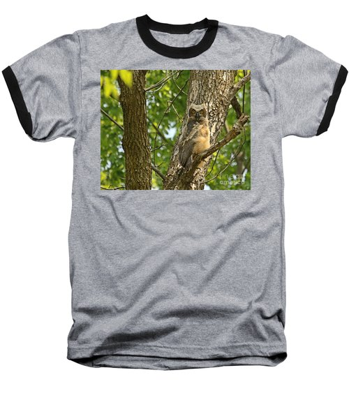 Baseball T-Shirt featuring the photograph Pleasantly Surprised  by Heather King