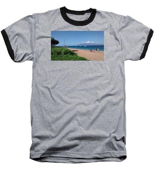 Please Stay Baseball T-Shirt