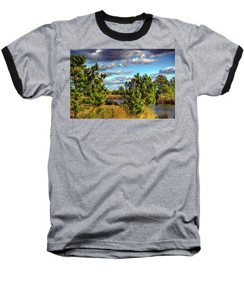 Pleasure House Point Natural Area  Baseball T-Shirt