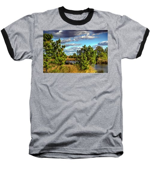 Pleasure House Point Natural Area  Baseball T-Shirt