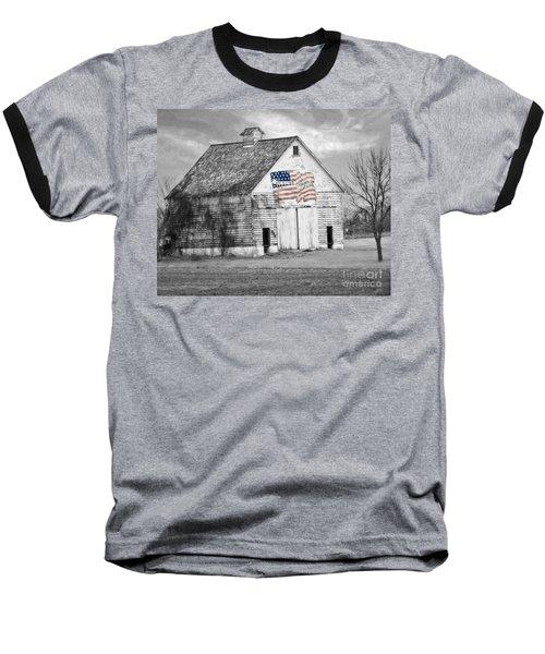 Pledge Of Allegiance Crib Baseball T-Shirt