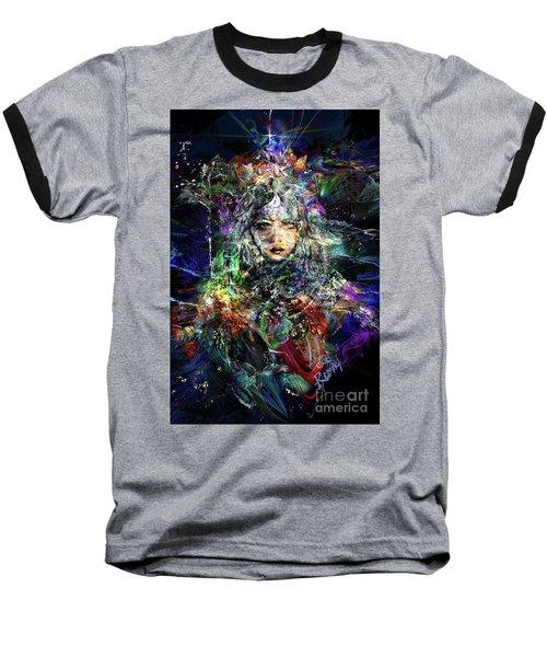 Pleiadian Bird Tribe Priestess Baseball T-Shirt