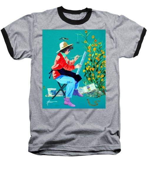 Plein Air Painter  Baseball T-Shirt
