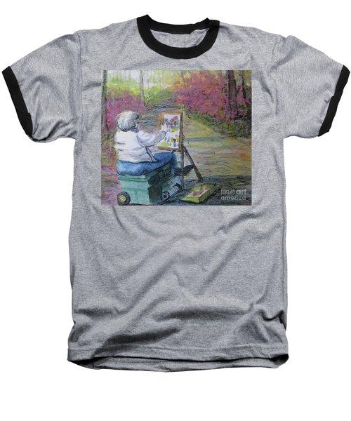 Plein-air Painter Lady Baseball T-Shirt