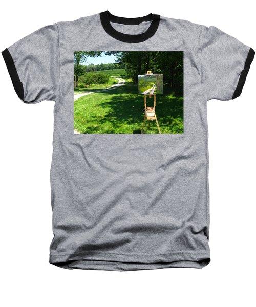 Plein Air Painter's Studio Baseball T-Shirt