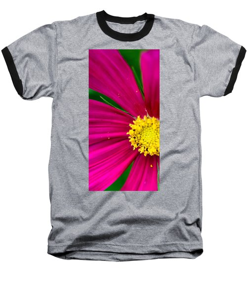 Plink Flower Closeup Baseball T-Shirt