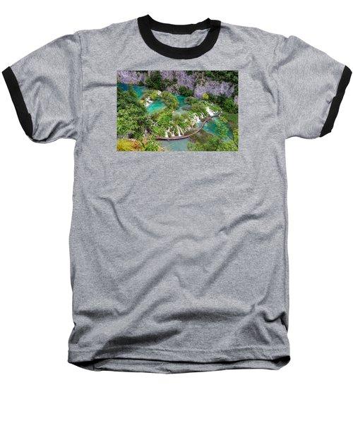 Plitvice Lakes National Park Baseball T-Shirt