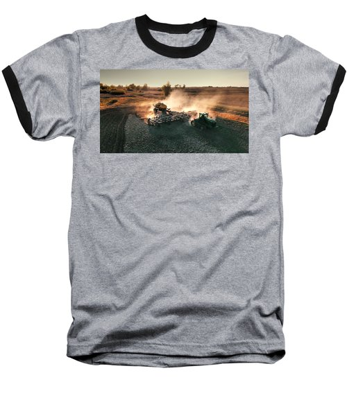 Plow The Fields And Scatter  Baseball T-Shirt