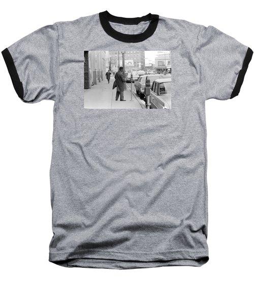 Plugging The Meter Baseball T-Shirt