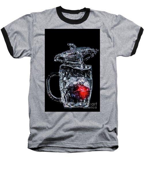 Baseball T-Shirt featuring the photograph Plum Splash by Ray Shiu