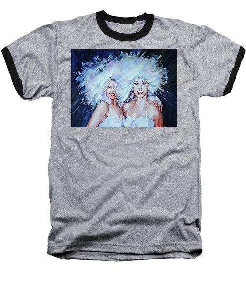 Plumage Baseball T-Shirt by P Anthony Visco