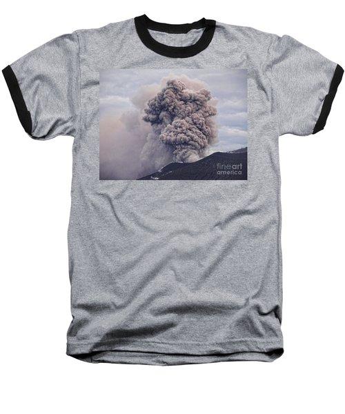 Plume Baseball T-Shirt by Trena Mara
