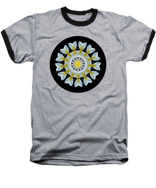 Plumeria Mandala By Kaye Menner Baseball T-Shirt