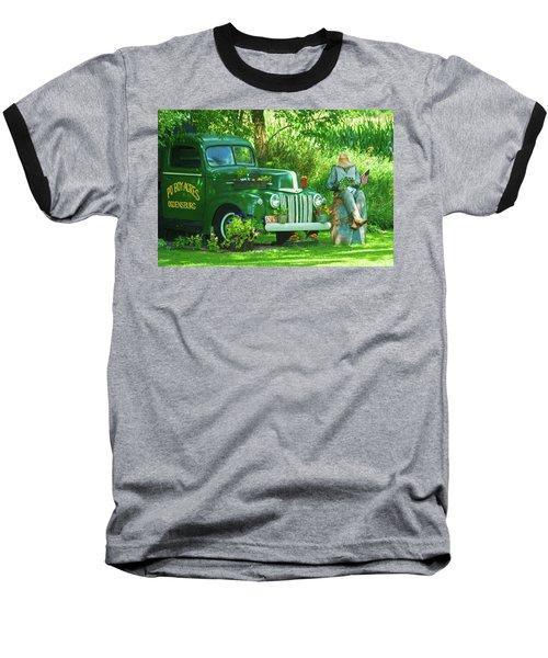 Po Boy Acres Baseball T-Shirt by Trey Foerster