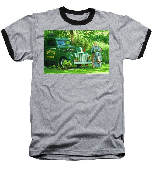Po Boy Acres Baseball T-Shirt