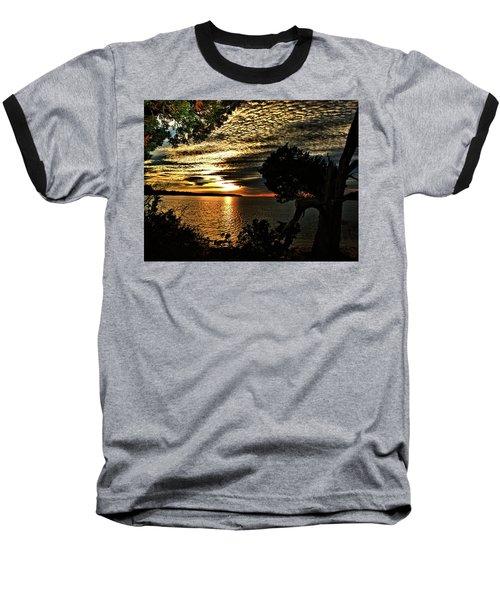 Pocasset Sunset Baseball T-Shirt
